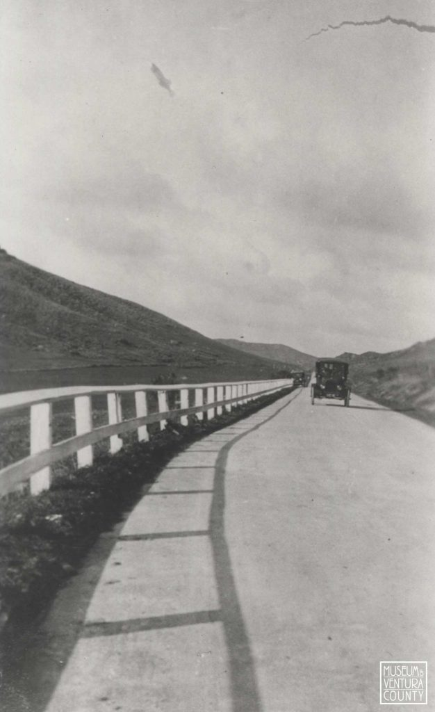 View of the Conejo Grade c. 1925