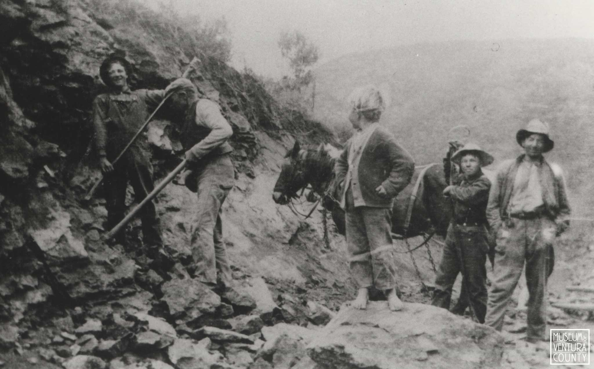 Workers on the Norwegian Grade c. 1911