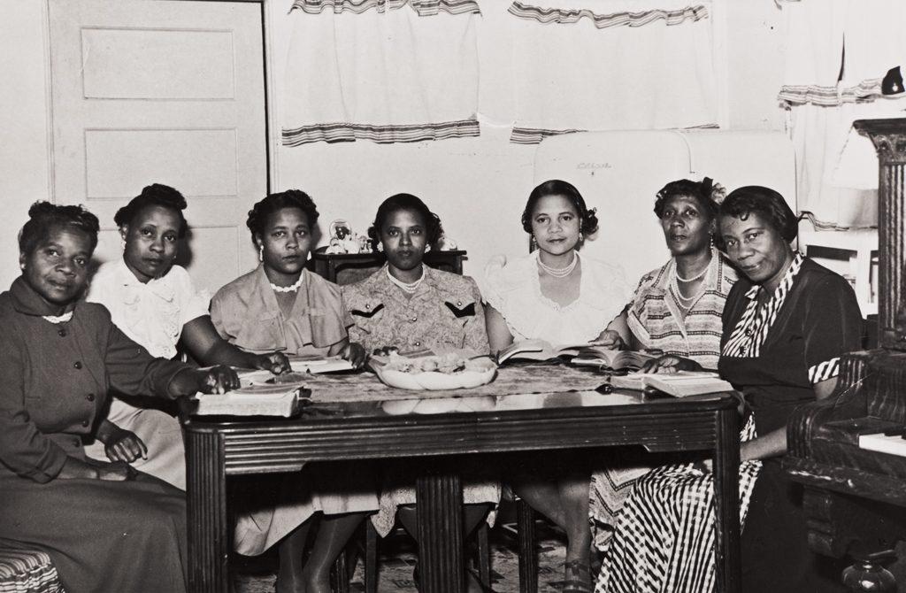 Women meeting at the Olivet Baptist Church c. 1940