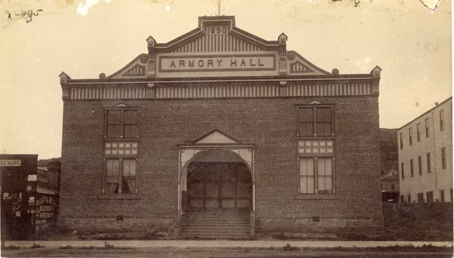 Armory Hall in Ventura.