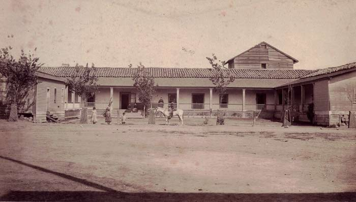 Don José de la Guerra's adobe in Santa Barbara