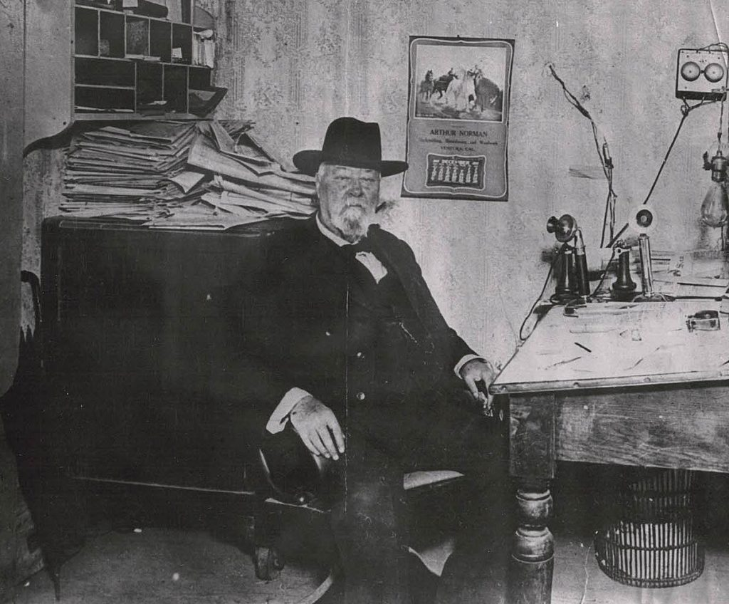 John McGonigle, editor of the Ventura Democrat, 1885 to 1915.