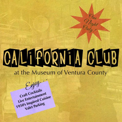 California Club: Opening Reception for California Cool @ Museum of Ventura County | Ventura | California | United States