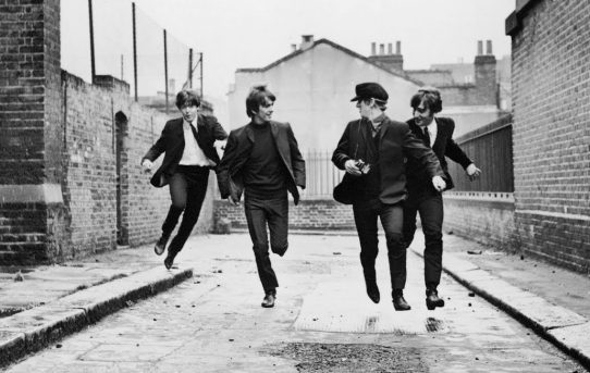 Behind the Scenes in Hollywood with Ivor Davis: The Beatle's A Hard Day's Night